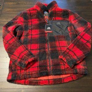ZeroXposur Sherpa Fleece Zip Up Jacket